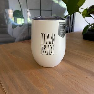 Rae Dunn TEAM BRIDE cup with lid